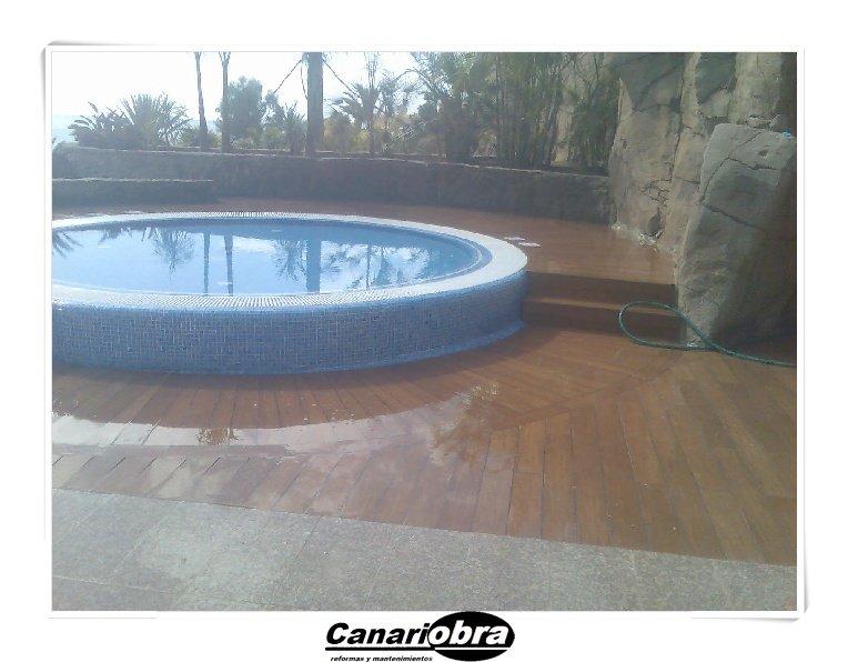 Construcción piscina hotel Maspalomas