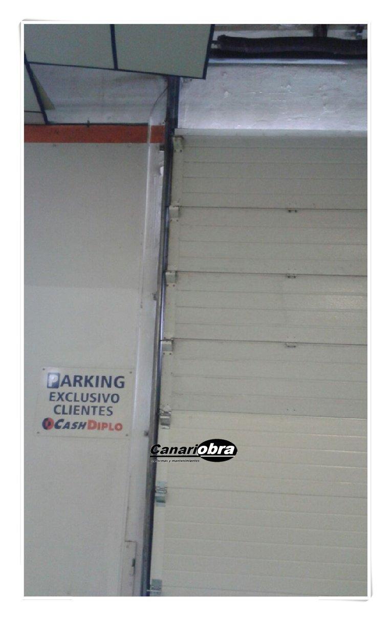 Reparación puerta seccional