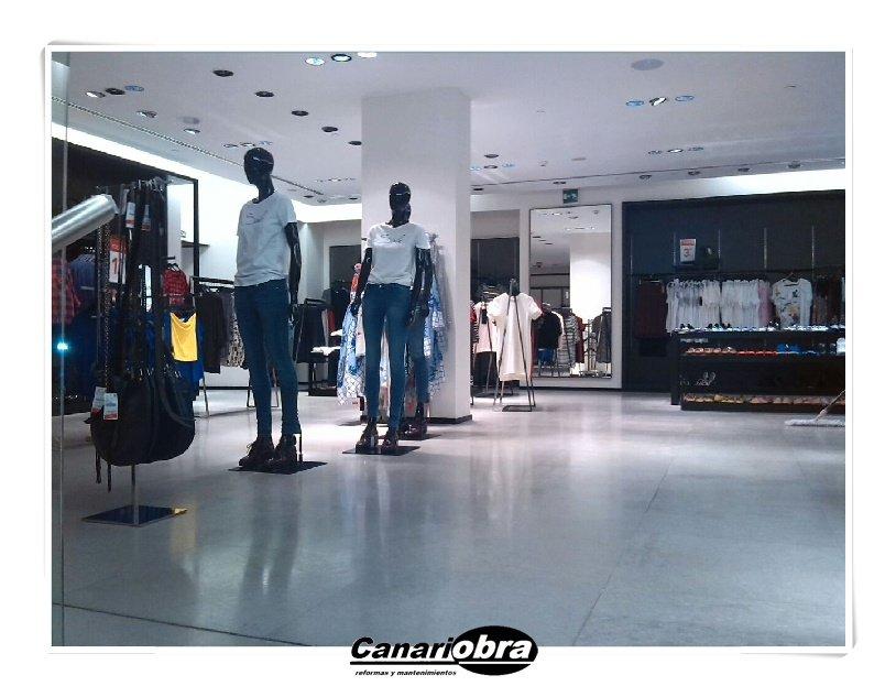 Pulido piso Tienda Zara