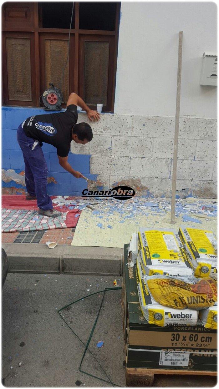 Reforma fachada vivienda El Tablero