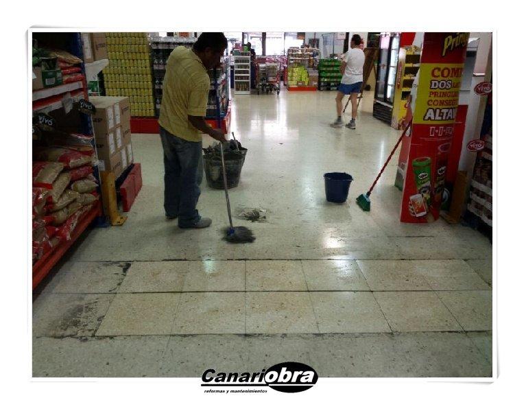 Trabajos mantenimiento Cash Diplo
